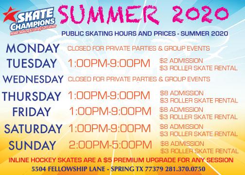 Hello Summer! Summer hours begin June 2