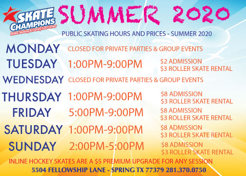 Hello Summer! Summer hours modified