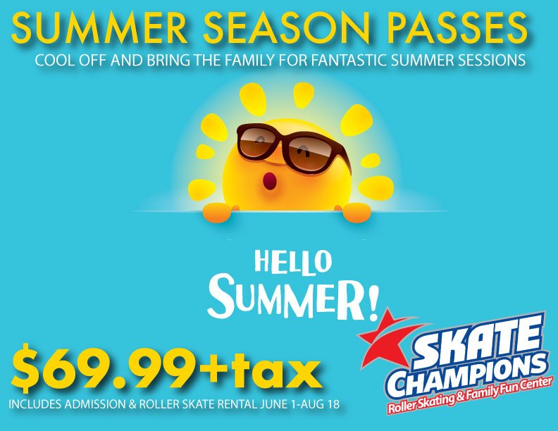 Summer Season Passes on Sale Now!
